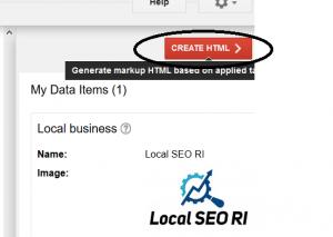 Local SEO RI Create HTML